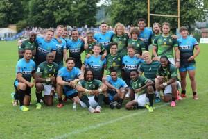 La Artech Side Step 7 con i campioni del Sud Africa