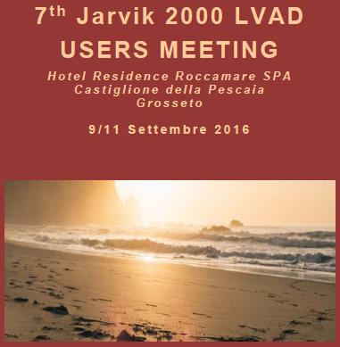 Poster 7th Jarvik 2000 users meeting