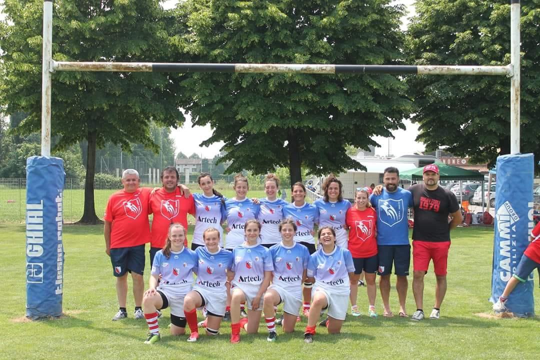 La formazione del Rugby Carpi e del Rugby Forlì 1979 conquista il terzo posto nazionale della Coppa Italia Seniores 2018