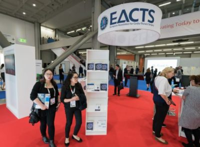 Ingresso dell'EACTS