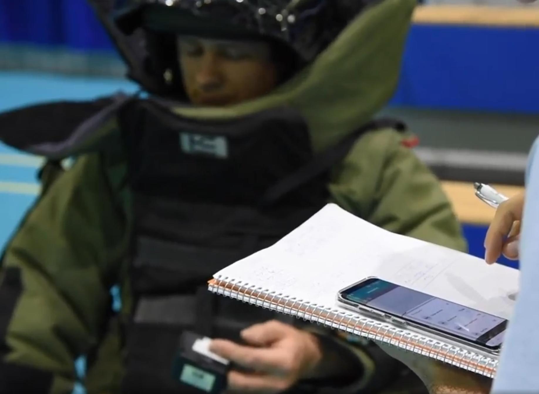 Artificiere NATO con CNOGA Mtx
