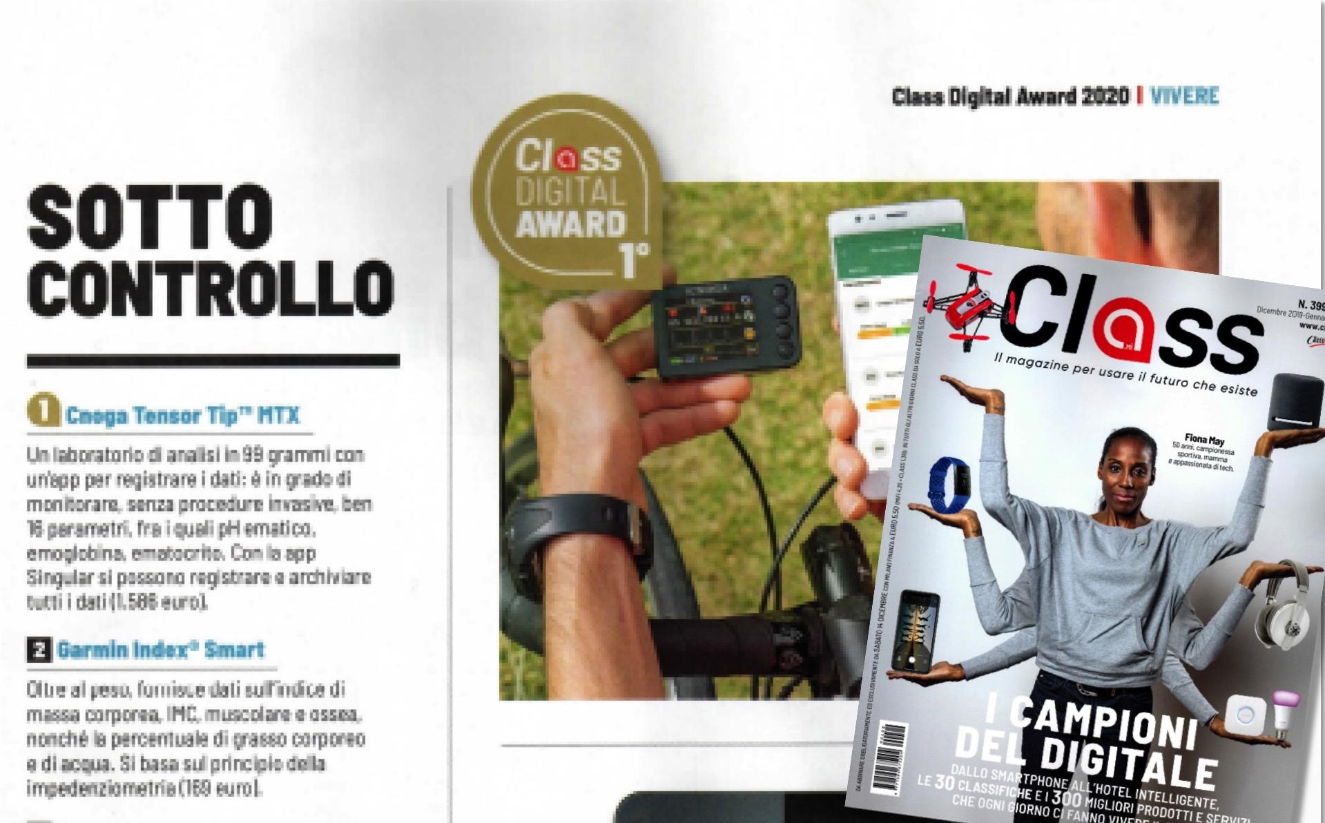 Articolo Class Digital Award Cnoga