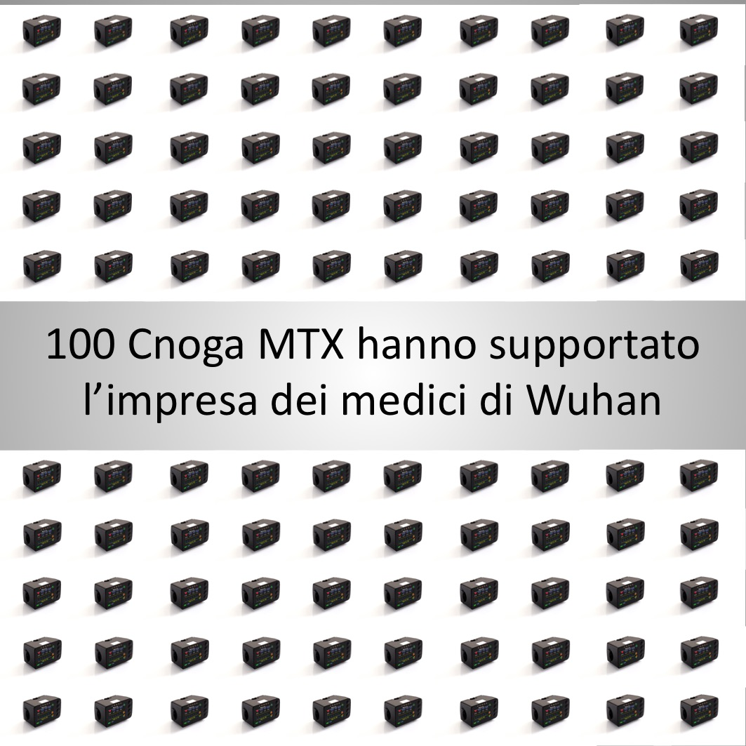 100 Cnoga MTX per combattere Covid19