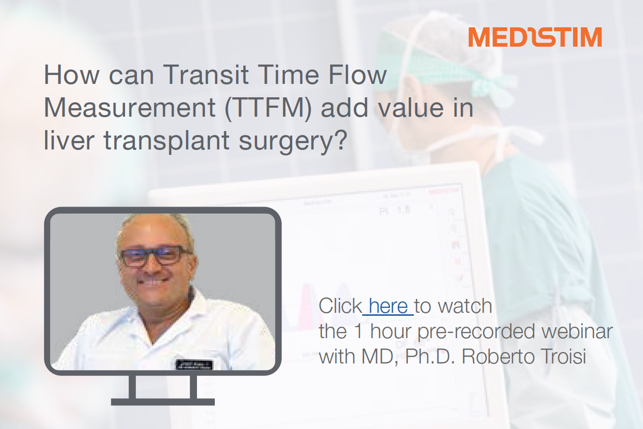 Webinar on demand su flussimetria e trapianto di fegato