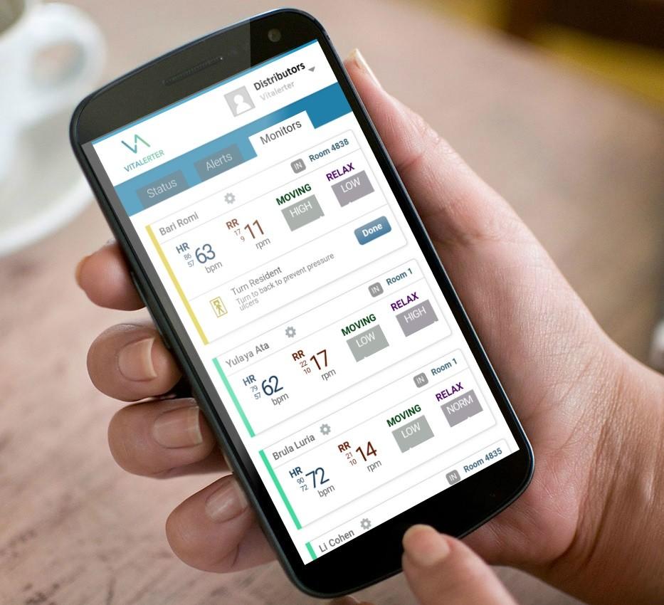 L'applicazione Vitalerter per smartphone
